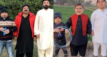 Yasir Nawaz Hilariously Copies Ahmed Shah's Video