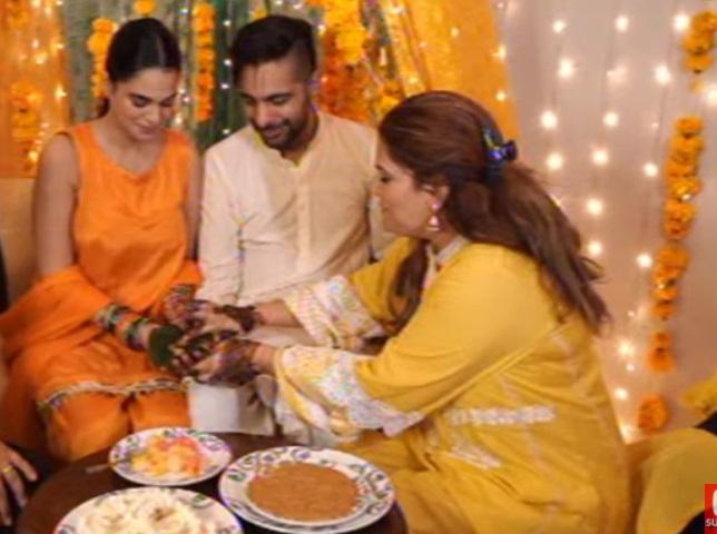 Zohreh Ameer Beautiful Wedding Pictures