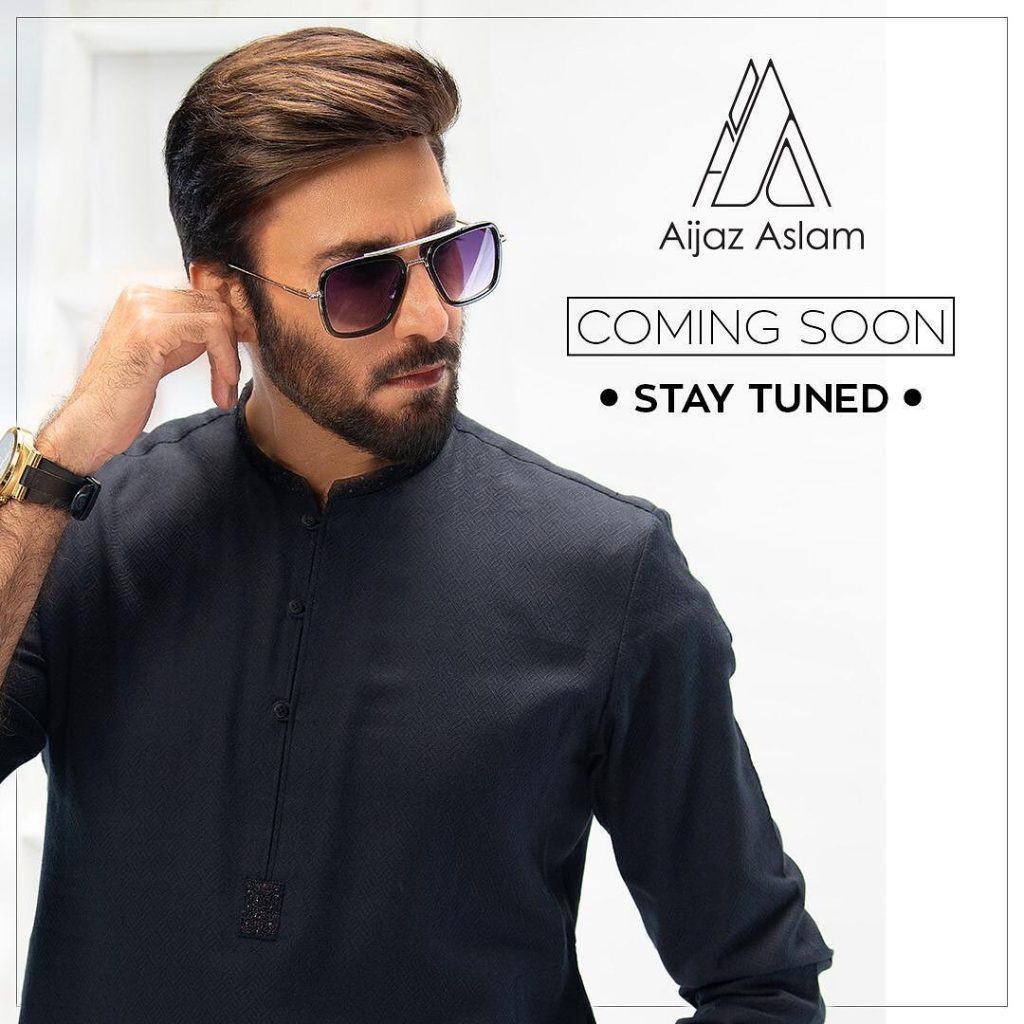 Aijazz Aslam Poses For His Latest Products