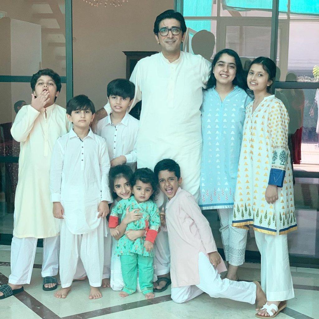 Adorable Family pictures of Pop-Rock Singer Ali Hamza