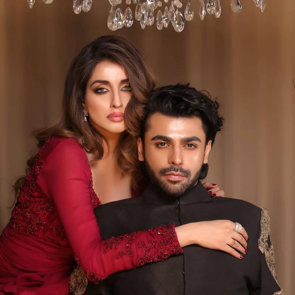 Iman Ali And Farhan Saeed Pair Up For A Shoot