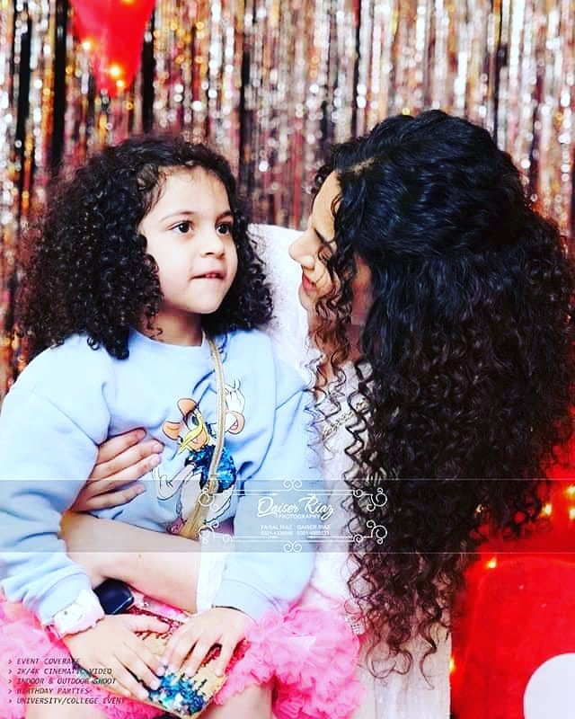 Curl Queen Annie Khalid And Her Daughter, Cutest Duo Ever
