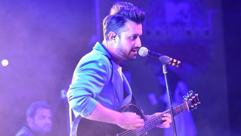 Atif Aslam Shares His Son's First Picture With His Fans
