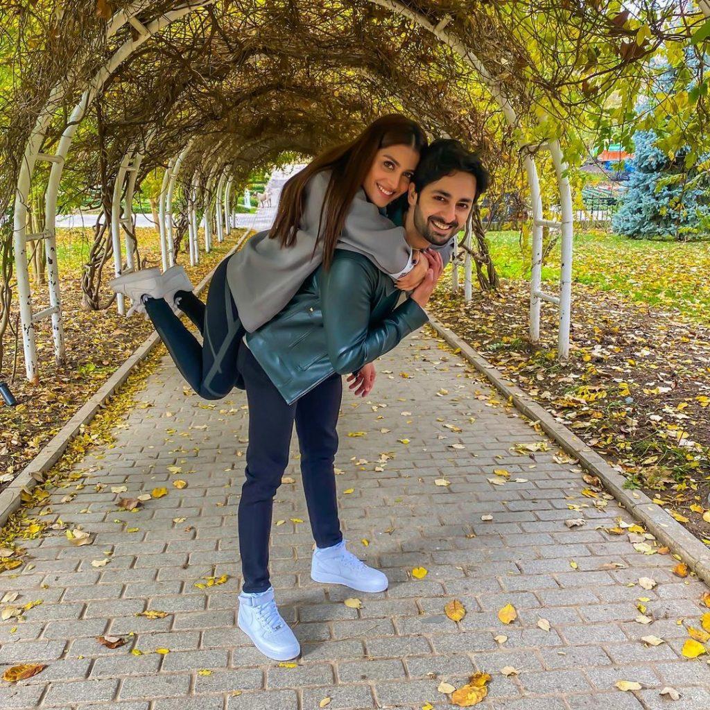 Ayeza Khan And Danish Taimoor Share Their Views Regarding Relationships And Marriage