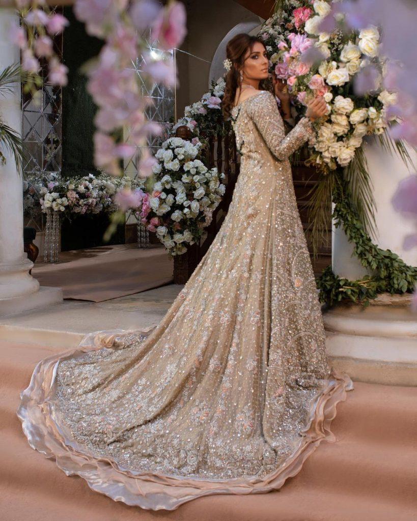 Sheeba Kapadia Latest Bridal Collection Featuring Ayeza Khan