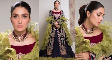 Ayeza Khan Stuns In Gorgeous Ruffled Outfit