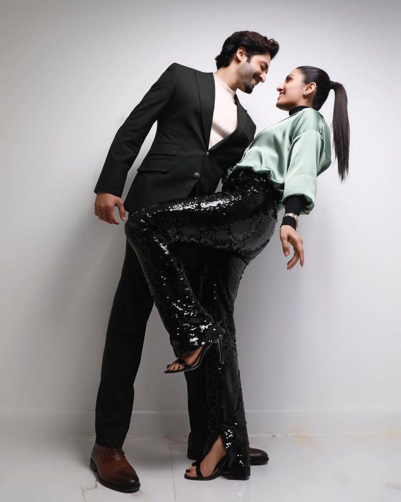 Ayeza Khan Looks Dazzling In Her Latest Shoot With Danish Taimoor