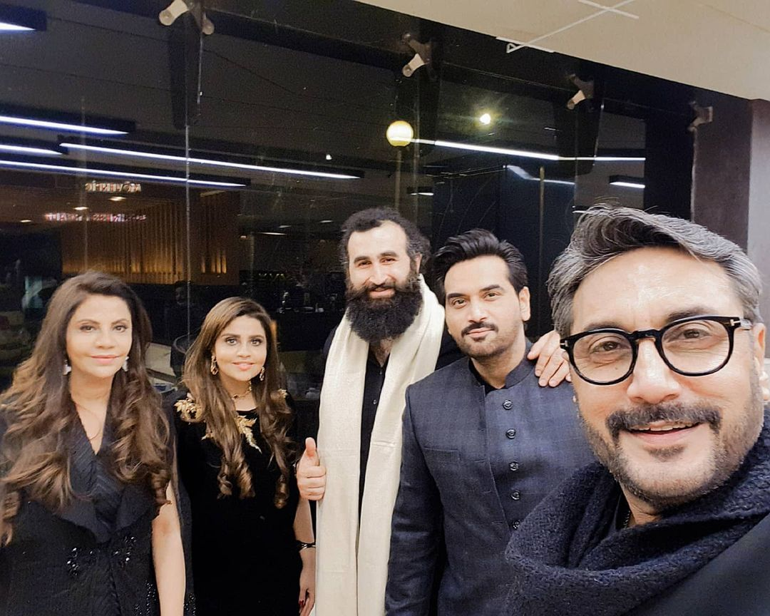 Turkish Actor Celal Al Last Night at an Event with Pakistani Celebrities