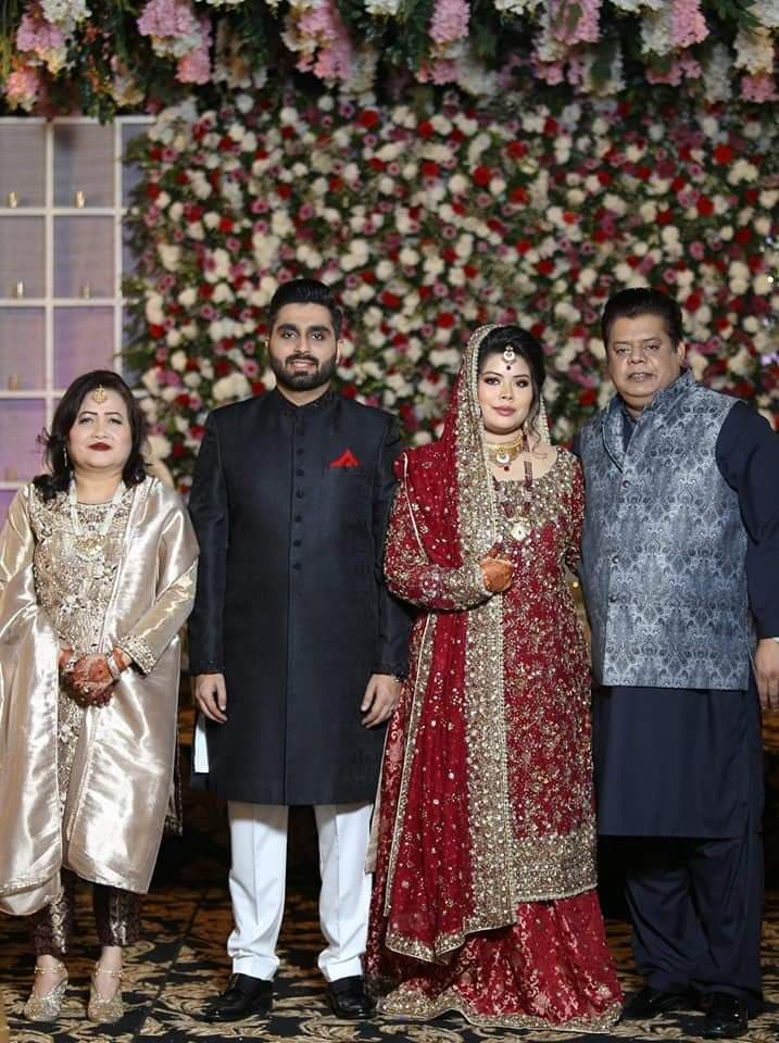 Wedding Pictures Of Chef Gulzar's Daughter Imana Hussain