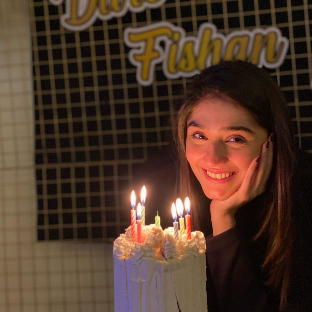 Dur-e-Fishan Saleem Celebrates Her Birthday With Her Co-Stars