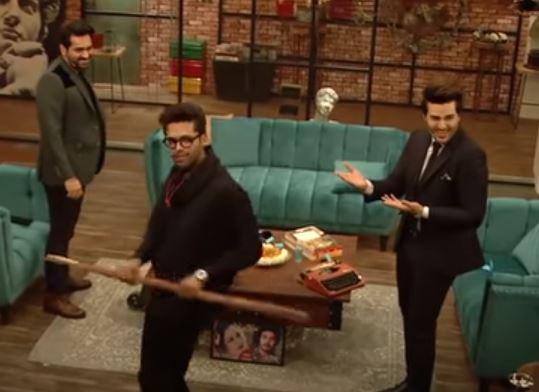 Humayun Saeed And Fahad Mustafa's Dance Moves Are Worth Watching