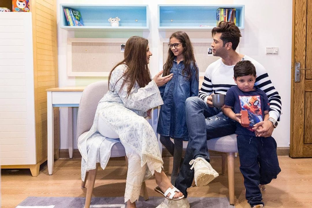 Birthday Party Pictures of Fahad Mustafa Son Musa
