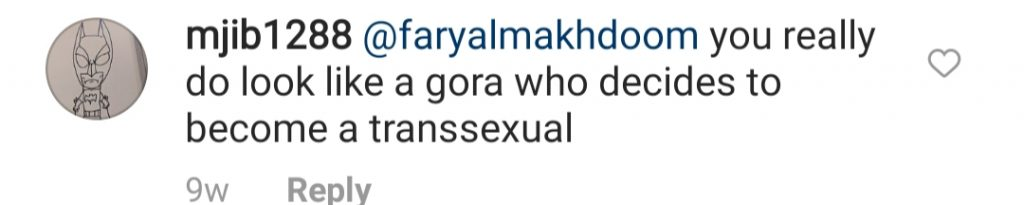 Public Criticism On Faryal Makhdoom's Picture