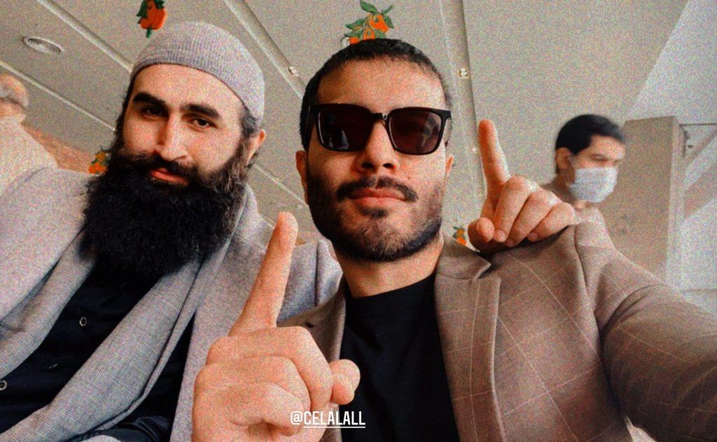 Turkish Actor Celal Al Meets Feroze Khan in Karachi