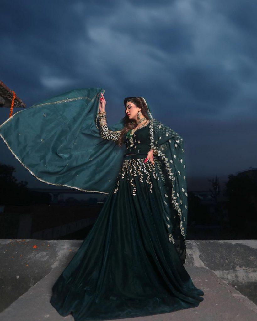 Unseen Bridal Look Of Ravishing Fiza Ali