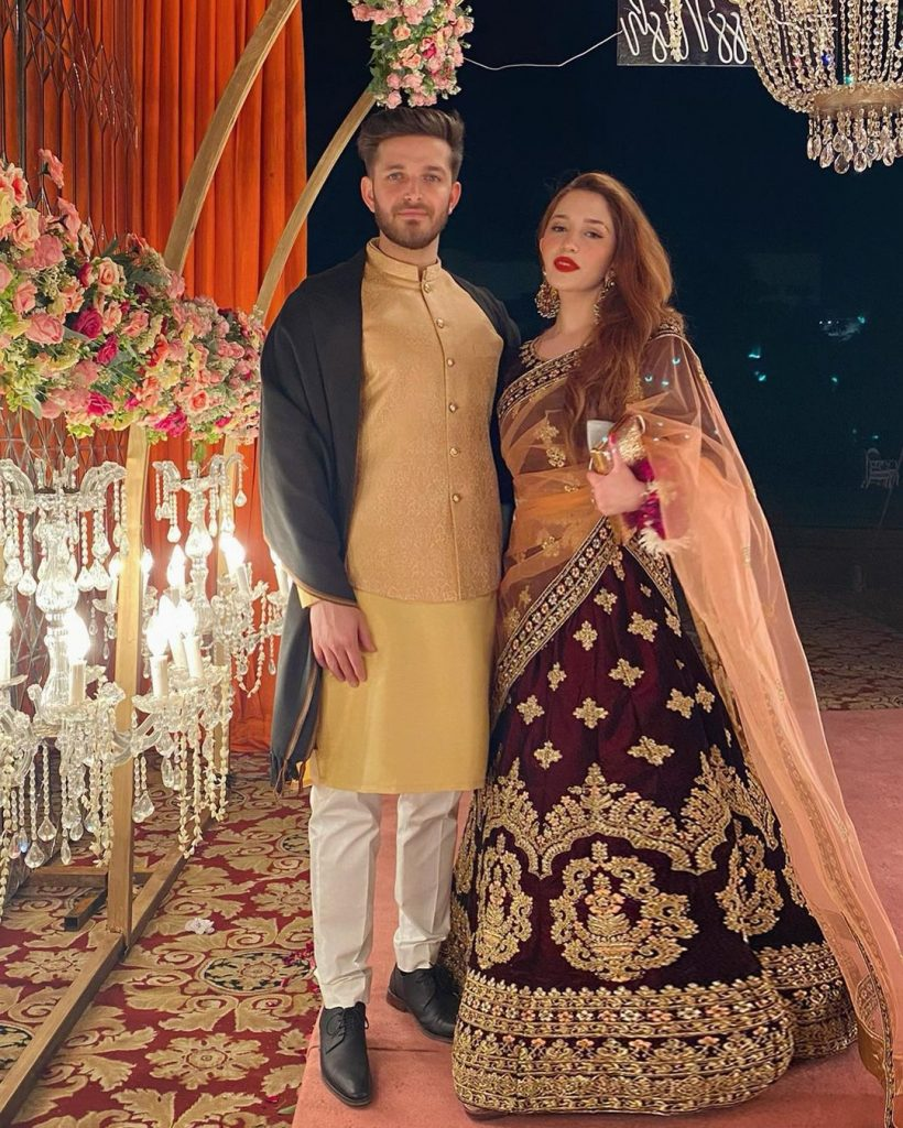 Fiza Khawar's Post Wedding Pictures With Husband