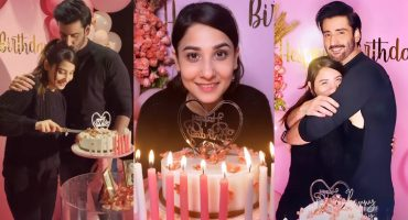 Agha Ali Surprised Hina Altaf On Her Birthday