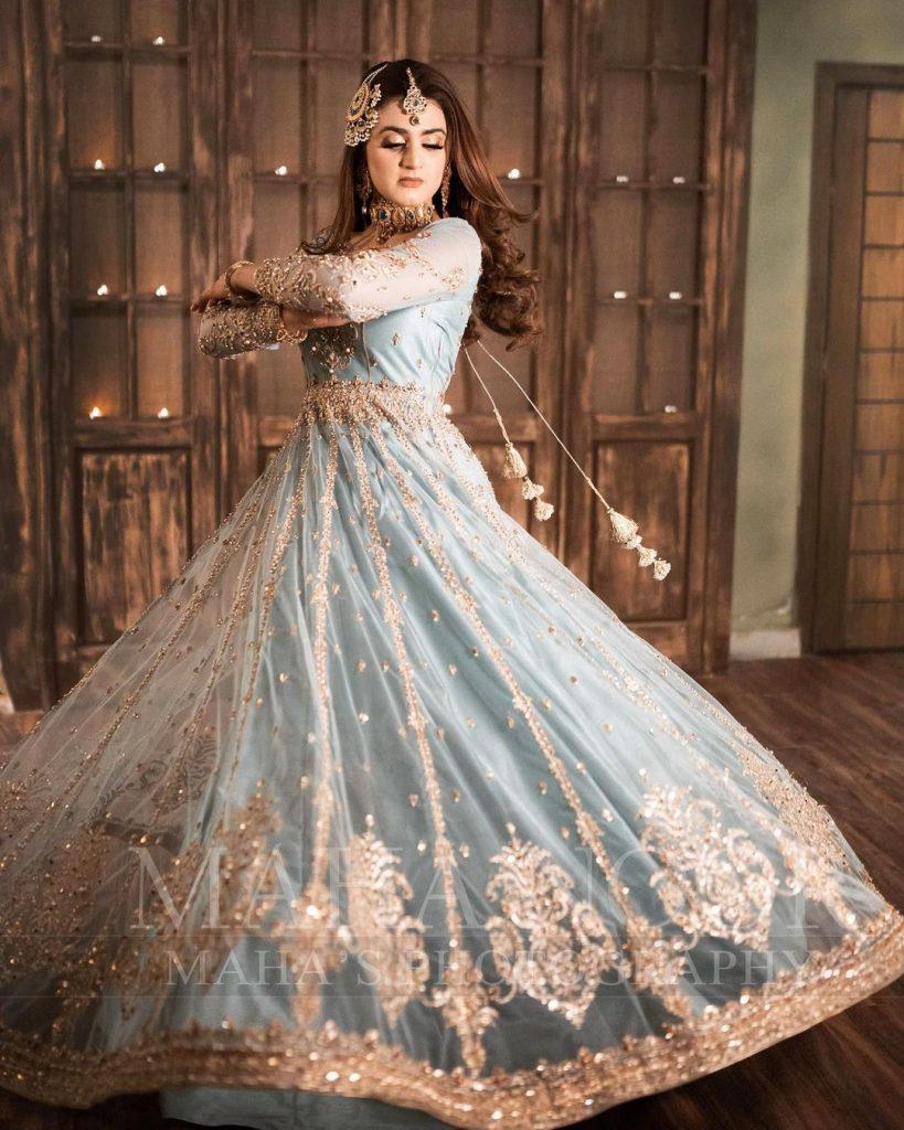 Latest Bridal Shoot Featuring Gorgeous Hira Mani