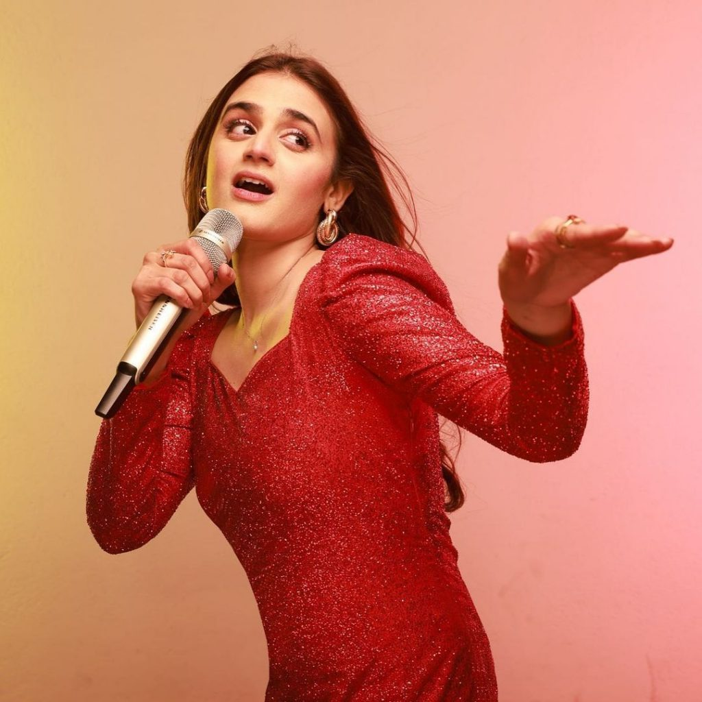 Zhalay Sarhadi's Lip Sync On Hira Mani's Song