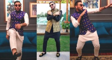 Humayun Alamgir Dancing On Gagar In His New Styling Video