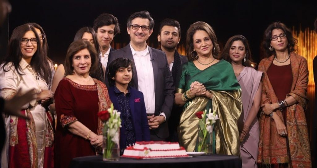 Celebrities Pictures from Hum TV 16th Birthday Celebrations