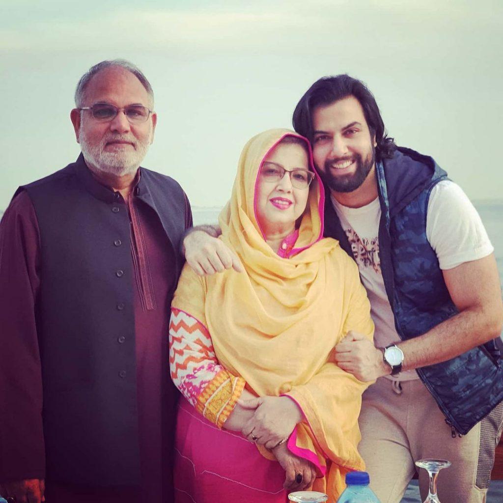 Lovely Family Photos of Noor Hassan