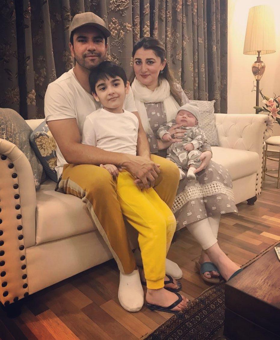 Beautiful Clicks of Junaid Khan with his Family