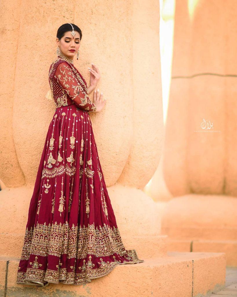 Kiran Ashfaq Haider Stuns In A Traditional Barat Look