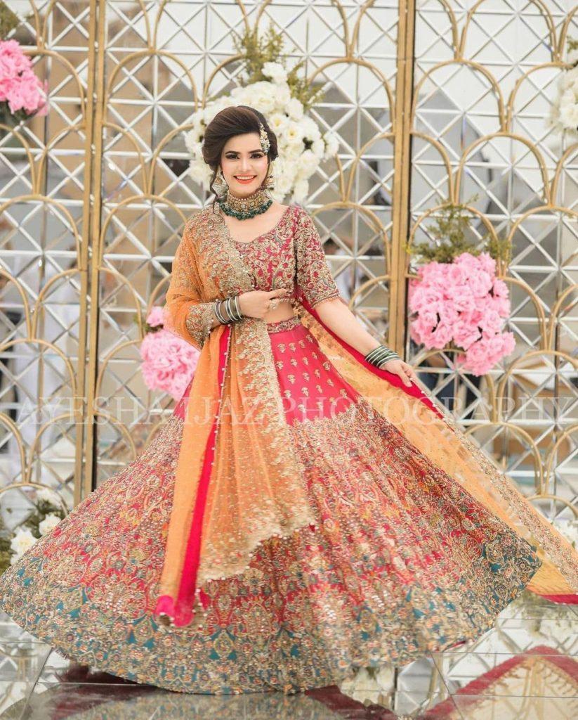 Kiran Haq Looks Ravishing In Her Unseen Bridal Attire