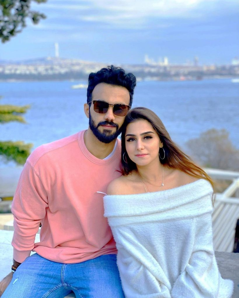 Aima Baig's Sister Komal Serve Major Couple Goals In Latest Pictures