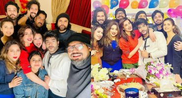 Mehwish Hayat's Birthday Celebration With Friends And Family