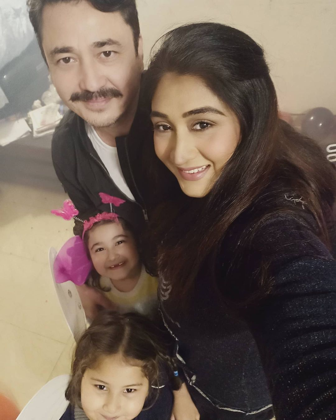 Latest Clicks of Madiha Rizvi with her Family
