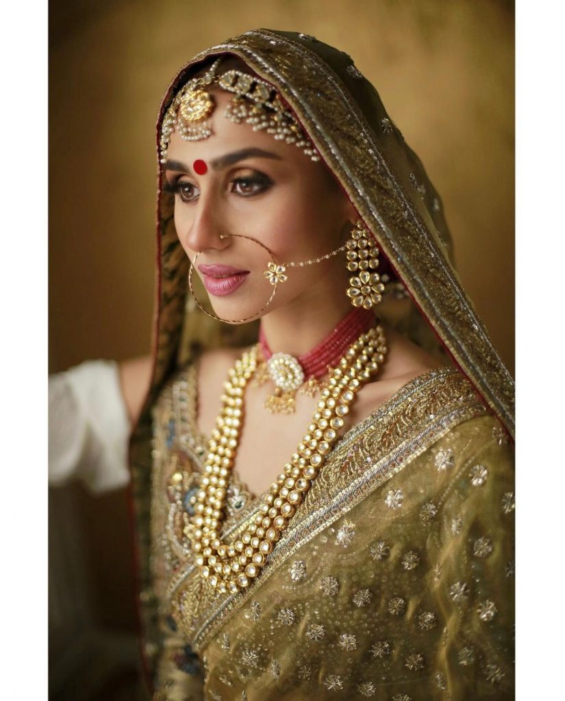 Lovely Photos of Mashal Khan in Bridal Wears