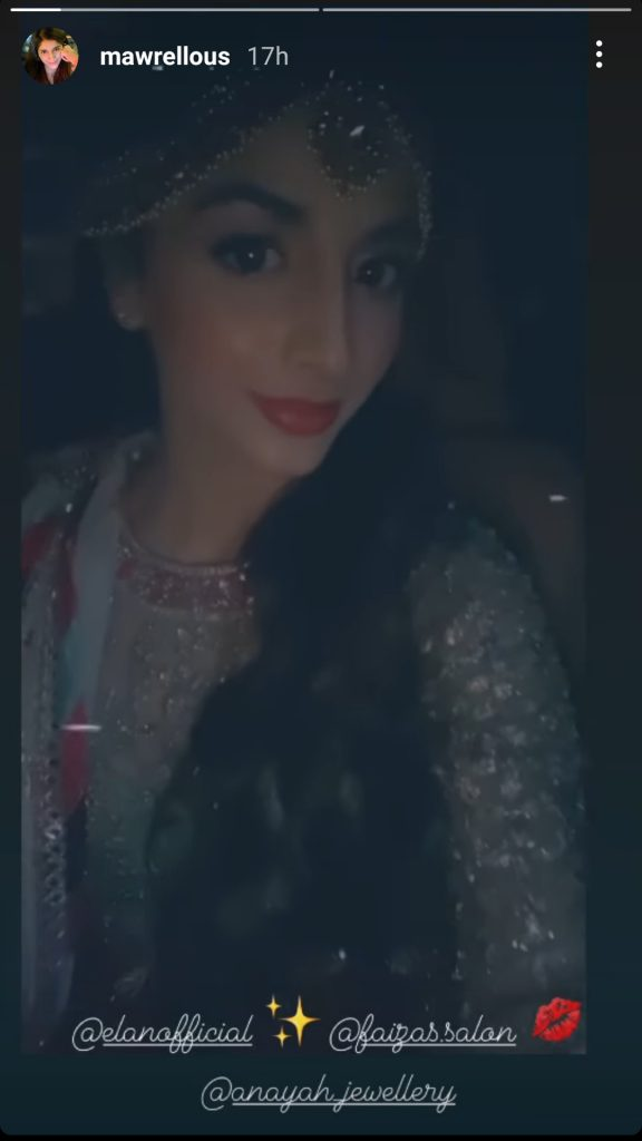 Mawra Hocane Looked Stunning On Her Friend's Mehndi And Nikkah