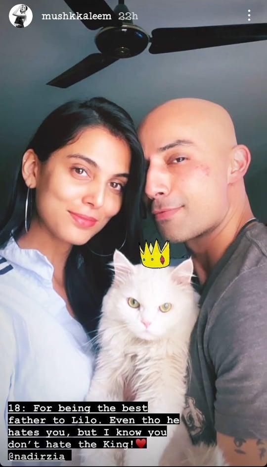Mushk Kaleem Wished Birthday To Her Someone Special