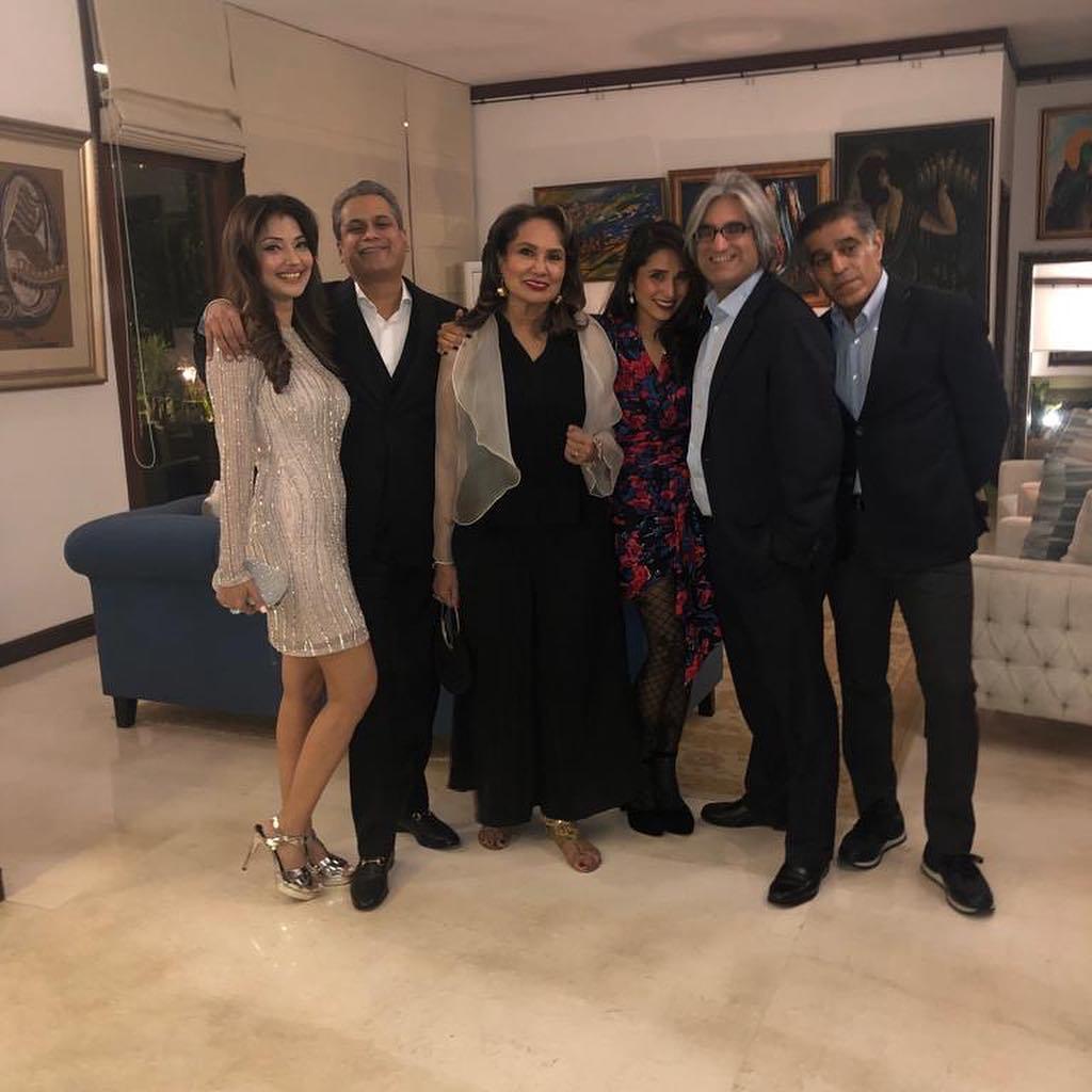 Natasha Hussain Celebrated 25th Wedding Anniversary