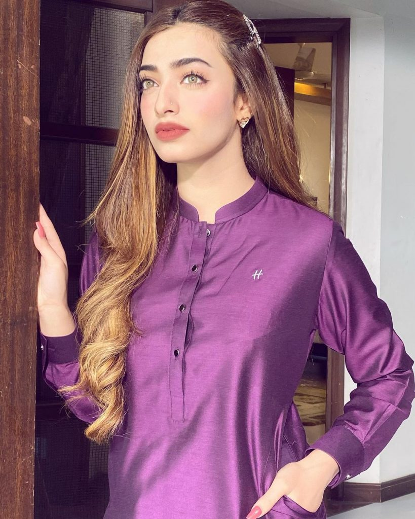 Nawal Saeed Shares Secret About Her Healthy Hair