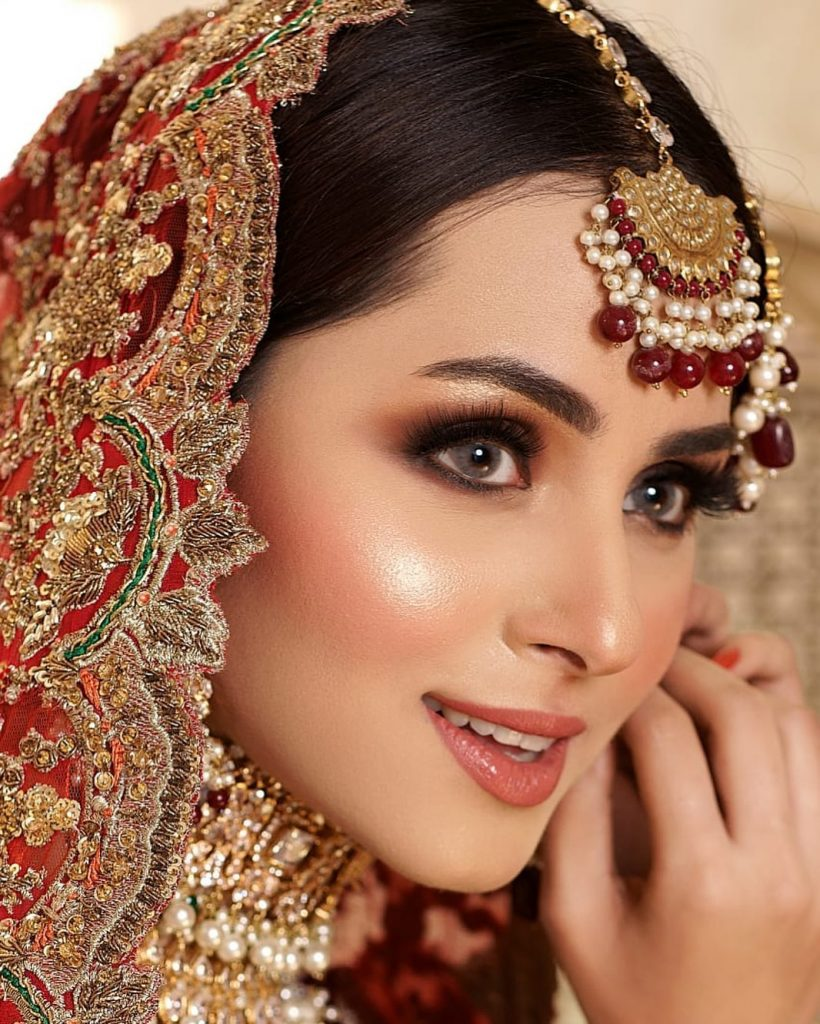 Nimra Khan Looks Drop Dead Gorgeous In Her Latest Bridal Shoot
