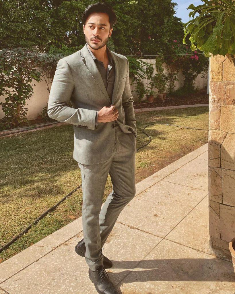 Noaman Sami in Handsome Formal Attires