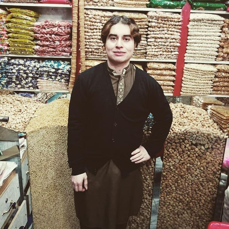 Latest Poses of TikTok Star Nasir Khan Jan