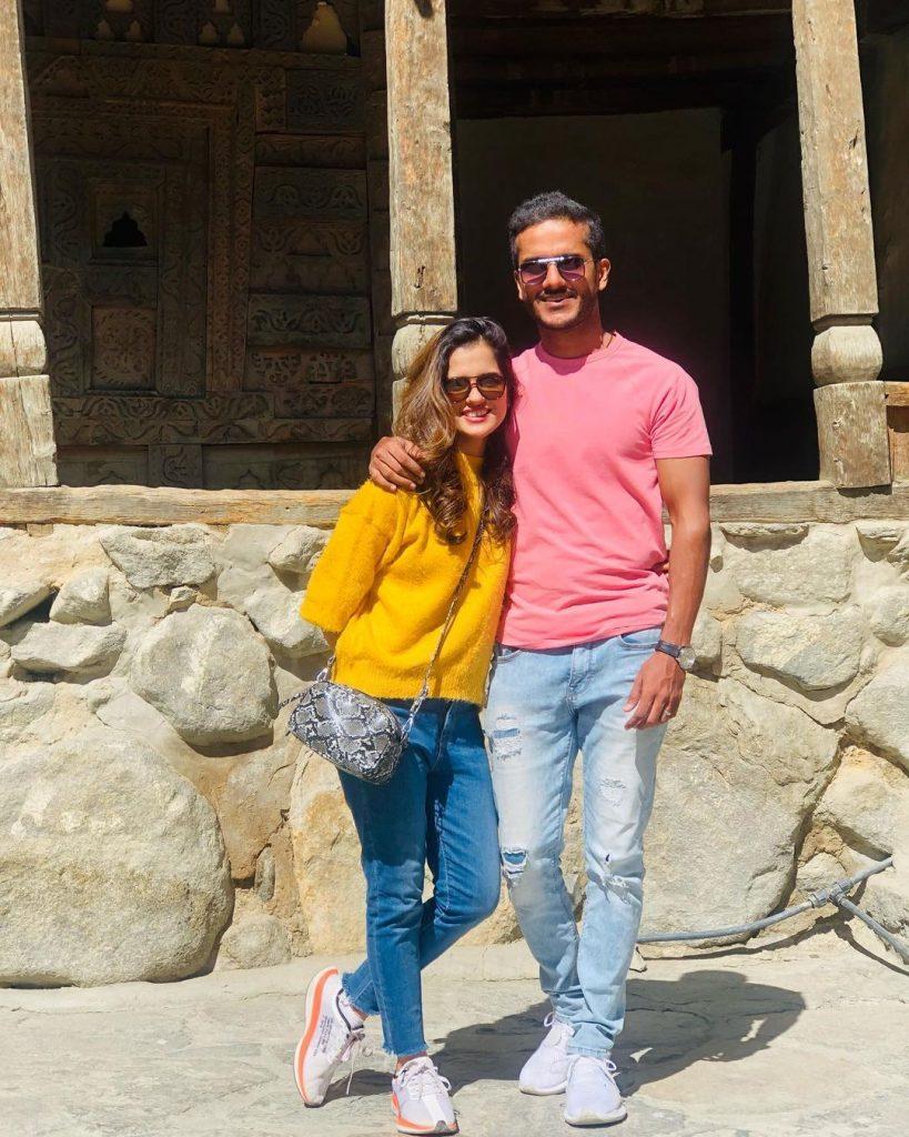Adorable Pictures Of Rabya Kulsoom With Her Husband