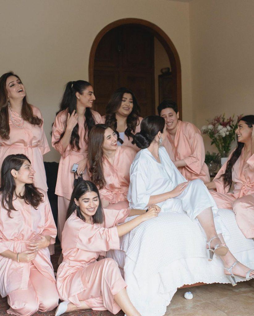 Fashion Model Rehmat Ajmal At Her Friend's Bridal Shower