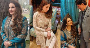 Saba Faisal And Sadia Faisal Spotted At A Family