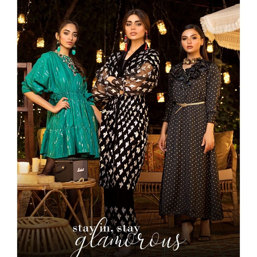 Latest Collection Of Khaadi Featuring Sadaf Kanwal
