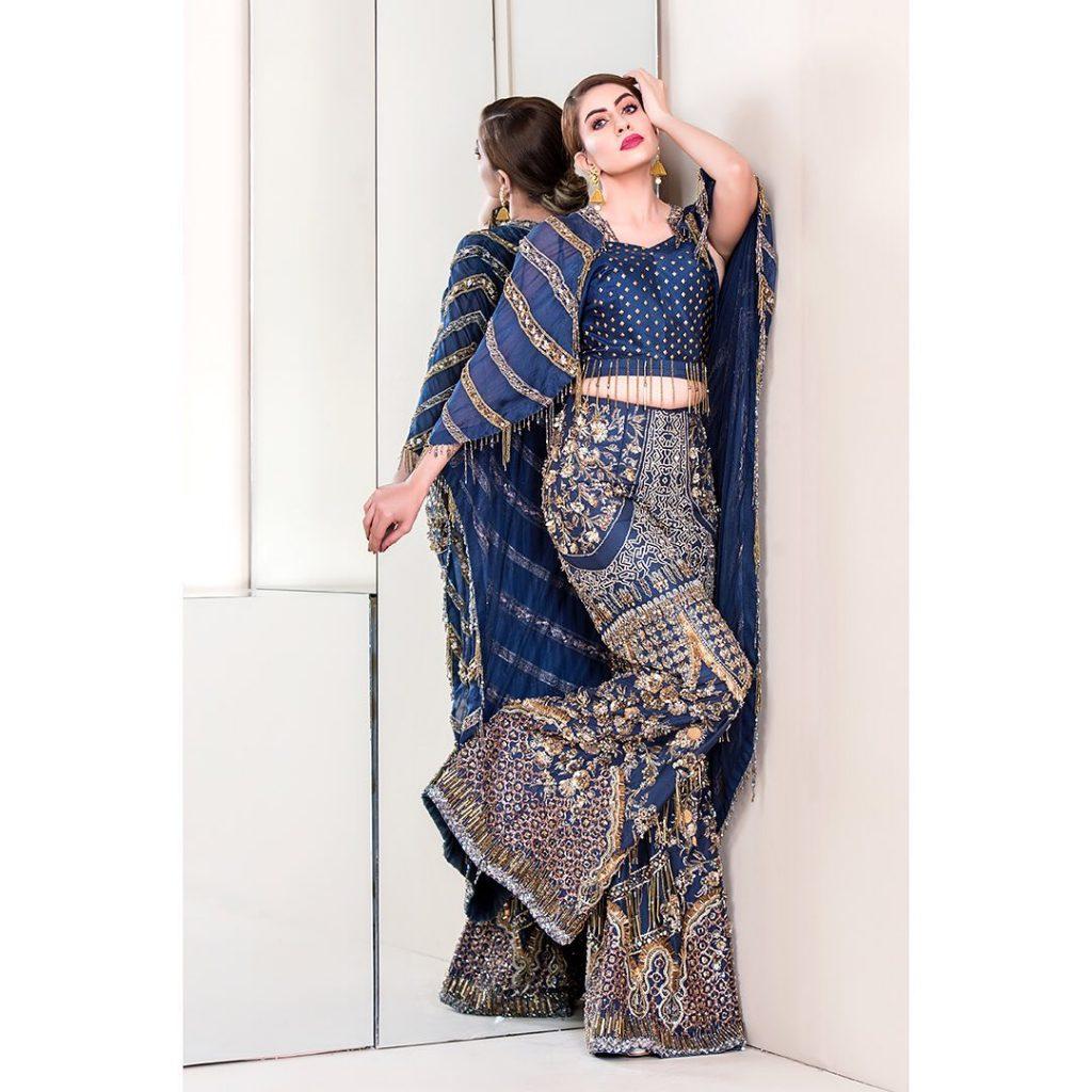 Sadia Faisal Looks Ravishing In Her Latest Bridal Shoot