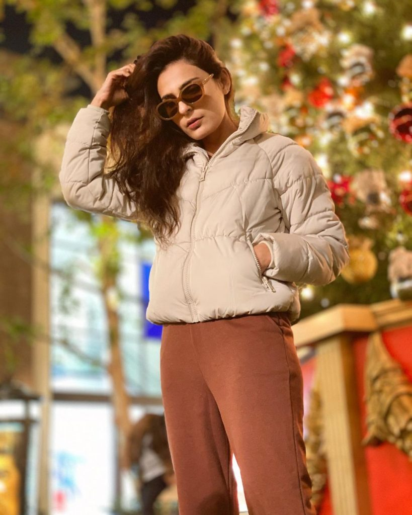 Sadia Ghaffar Vacationing In USA