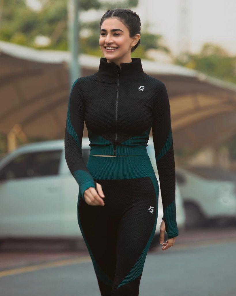 Saheefa Jabbar Khattak Rocking In Her Latest Gym Looks