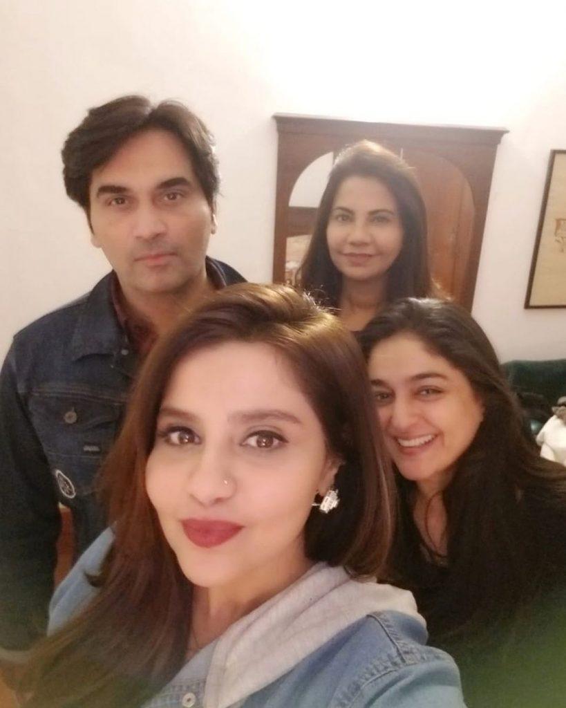 Latest Glimpse of Samina Humayun Saeed With Her Family