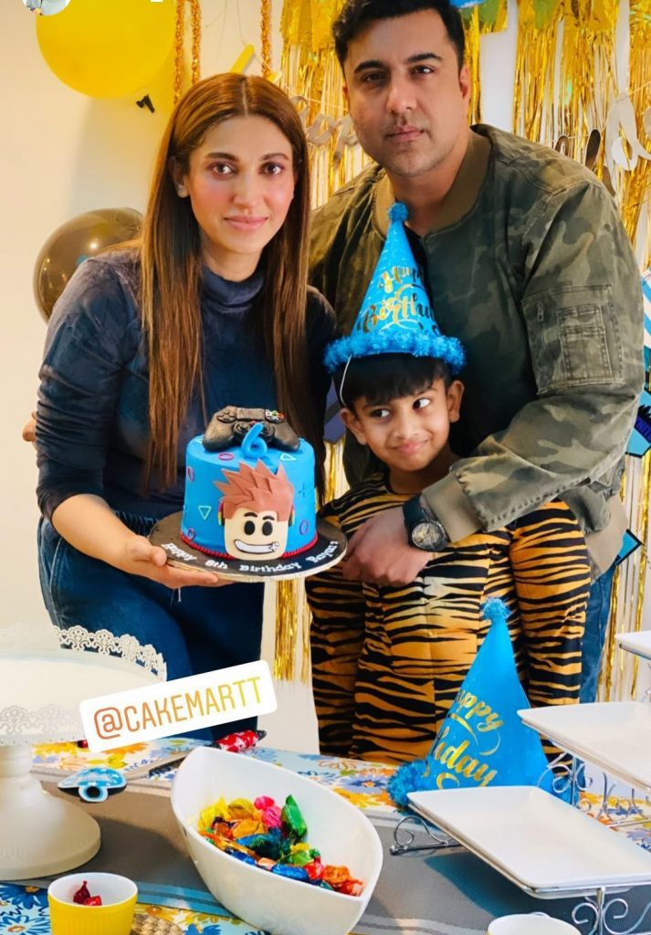 Sana Fakhar Son's Birthday Pictures and Video