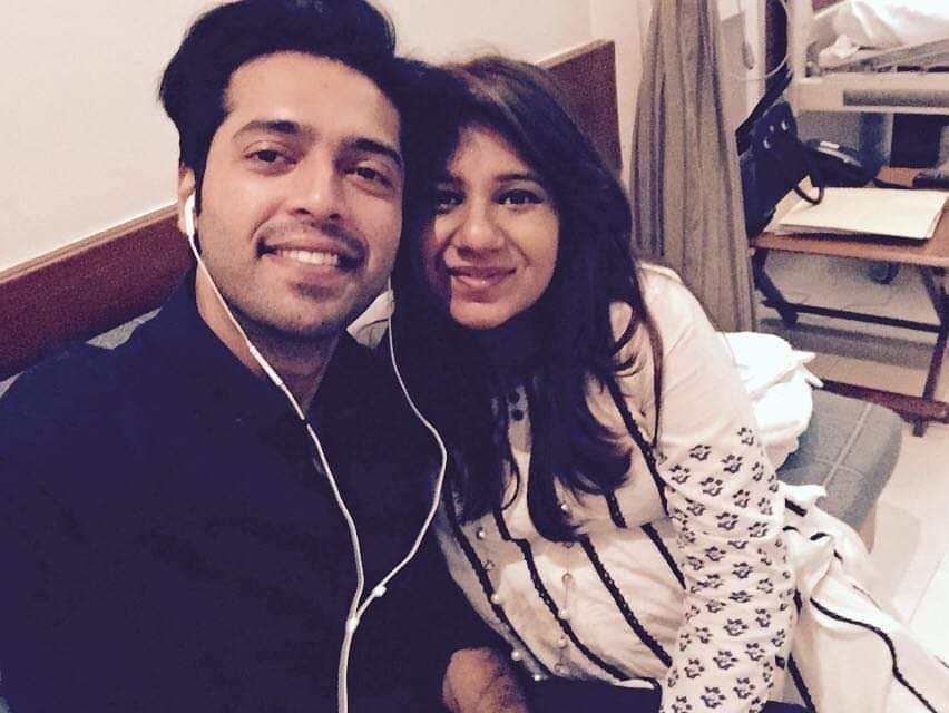 Latest Photos of Sana Fahad With Fahad Mustafa